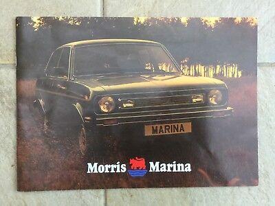 Morris Marina Sales Brochure  Publication Number 3327/A in VGC