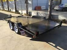 """14 x 6'6"""" 2T Gross B/S Open Car Carrier + Beaver Tail  Trailer Epsom Bendigo City Preview"""