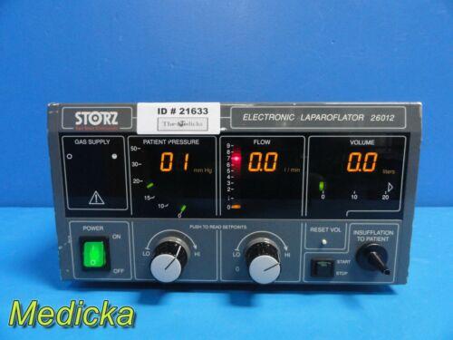 Karl Storz 26012C Endoscopy (CO2) Electric Laparoflator ~ 21633