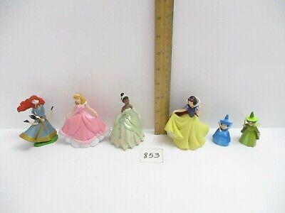 Disney Store Princess Lot - Snow White Brave Aurora Tiana Fairy Godmothers