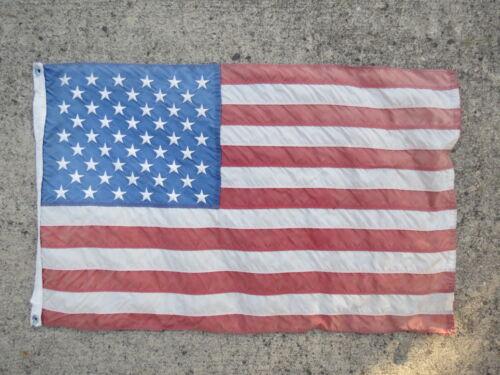19+1/2 X 31 NYLON USA FLAG YACHT CLUB SAILBOAT SHIP BOAT SIGNAL (#2736)