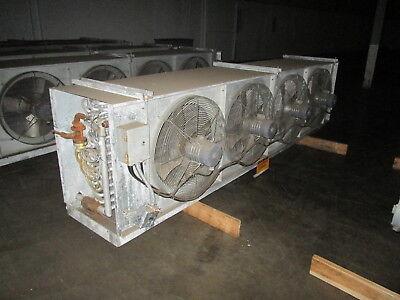 Mccormack Ammonia Evaporator 74cd64cxai-x-left 4-fan .3hp Mfd 1999 Used