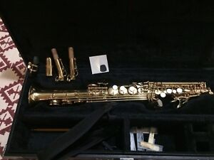 Soprano saxophone, Jupiter, complete package. Great condition.
