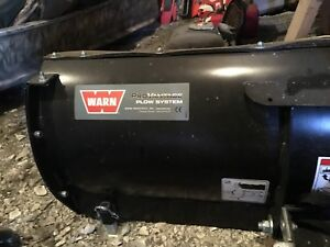 Warn ATV plow system with bucket