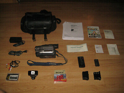 Sony CCD-TRV99 Hi-8, 8MM Video Camcorder, NTSC X RAY , MADE IN JAPAN.