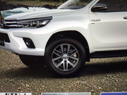 Genuine New Toyota Hilux Alloy Wheels Tyres Ryde Ryde Area Preview