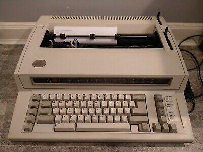 Vintage Ibm Personal Wheelwriter Electronic Typewriter Model 6781 Works