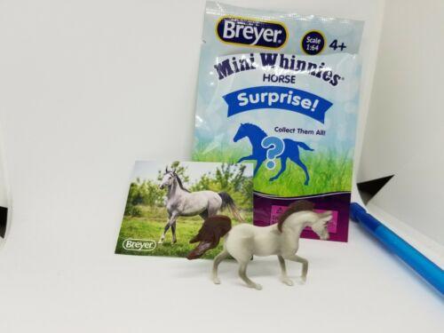 BREYER Mini Whinnies Series 3 Walmart Jasper grey gray