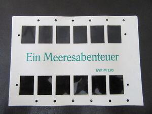 Stereomat 3D-Bildkarte-Ein Meeresabenteuer-Teddys beim Tauchen-unbenutzt-org.DDR
