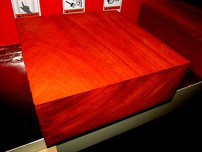 Stunning Kiln Dried Exotic Padauk Bowl Blanks Lathe Lumber Carve 8 X 8 X 3