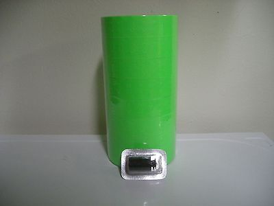 Fl-green Labels For Monarch 1136 Pricing Gun 1 Case 64 Rolls Free Ship