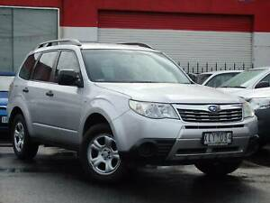2010 Subaru Forester X Auto SUV ** LOW KMS ** $12,990 DRIVE AWAY Footscray Maribyrnong Area Preview
