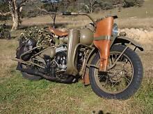 1942 WLA Harely Davidson Royalla Queanbeyan Area Preview