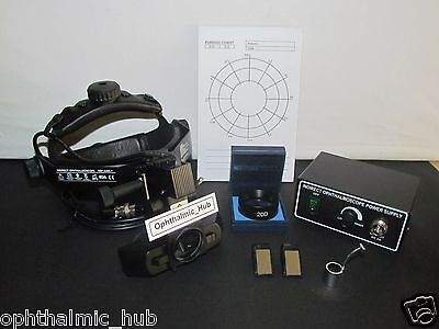 Indirect Ophthalmoscope Halogen With 20d Lens In Carry Case Free Shipping