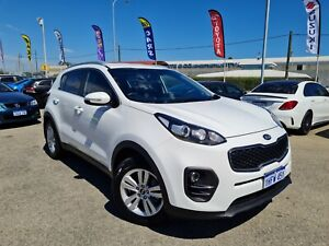 2017 Kia Sportage QL MY18 Si 2WD White 6 Speed Sports Automatic Wagon** STILL UNDER FACTORY WARRANTY Cannington Canning Area Preview