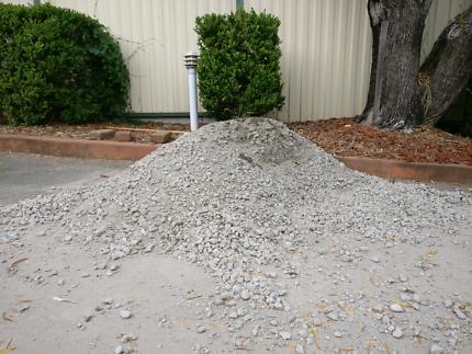 Road base(ANL reBase) and paver sand