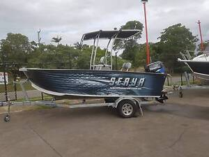 2017 Seaya 520 Plate alloy Centre Console,with 75hp Tohatsu new Clontarf Redcliffe Area Preview