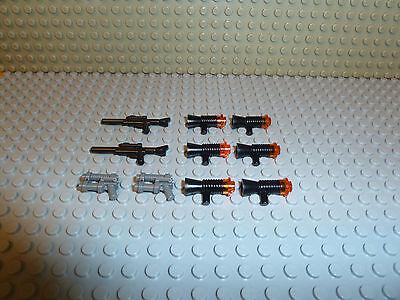 LEGO® STAR WARS Clone Trooper Blaster Pack 10 x Blaster Gun Waffen Set F212 ()
