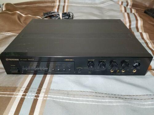 (missing knob) Pioneer MA-9; 3x MIC Mixer Digital Echo - Karaoke Pitch Control