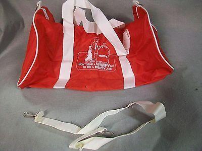HEFTY ADVERTISING PROMO TRASH BAG COLLECTIBLE DUFFLE BAG