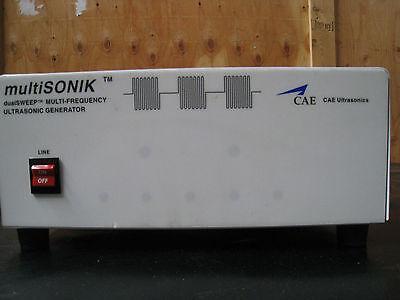 Multisonik Cae Ultrasonic Generator Msg-18t-208v-clm W Master Control Unit