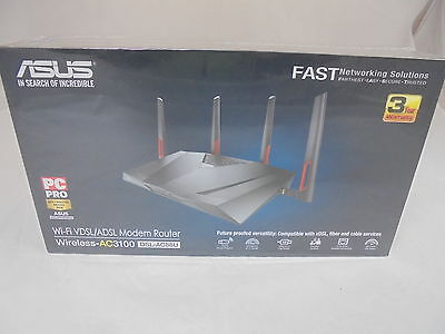 Asus (DSL-AC88U) AC3100 , Modem Router