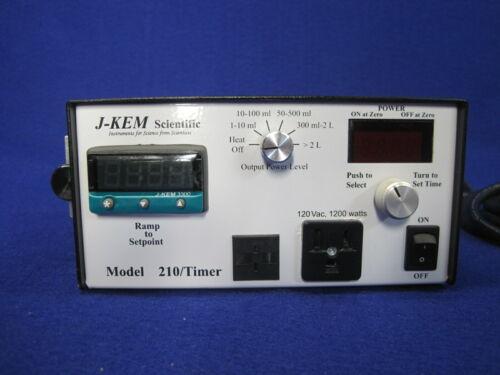 J-KEM Model 210/Timer Temperature Controller USB: 120vac, 15 amps, 1600 watts