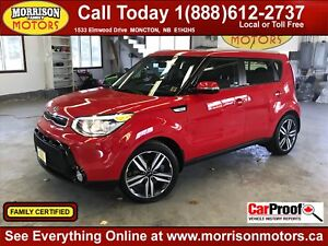 2014 Kia Soul SX HEATED SEATS AND WHEEL!! LOADED!