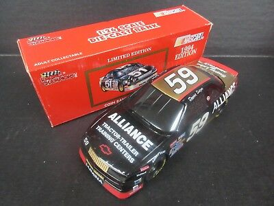 1992 94 Racing Champions Dennis Setzer  Alliance Bank Bank Car 1 24Th Scale
