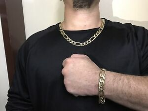 Solid gold chain and bracelet Wanneroo Wanneroo Area Preview