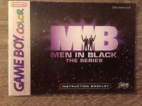 Manuale D'istruzioni Gioco Men In Black The Series Game Boy Color Nintendo - game boy - ebay.it