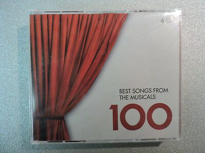 100 BEST SONGS FROM THE MUSICALS - EMI Classics 6 CD