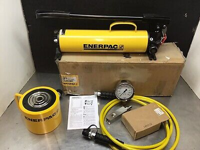 Enerpac Rcs1002 Scl1002h Hydraulic Cylinder 100 Ton 10000 2 Stroke P80 Set