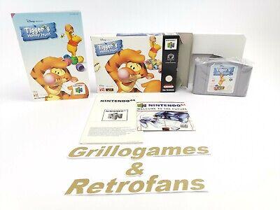 "Nintendo 64 Spiel "" Tigger´s Honey Hunt "" N64   Ovp   Pal   Tiggers"
