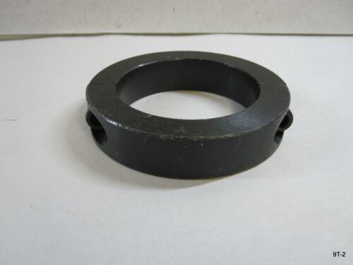 Zoro 2-Piece Shaft Collar Clamp 3 In Black Oxide Steel G7245524 2C-300
