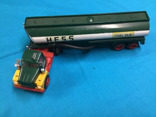 1974 Hess Tanker Truck Without Box