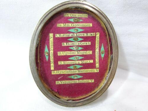 ✝ Reliquary Relic St. Thomas of Cori St. Veronica St. Maria Bl. Matthia Nazzarei