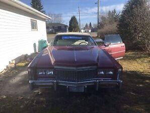 76 Cadillac Eldorado 2 door convertible