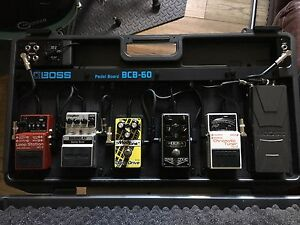 Boss CBC powered pedalboard