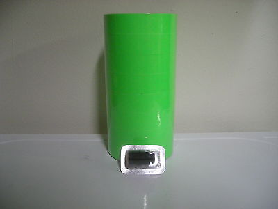 28000 Labels For The 2 Line Monarch 1136 2 Sleeves Fl. Green