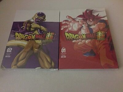 Dragon Ball z Super Part One and two 1 & 2 dvd free shipping 1-2 days  brand new