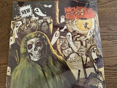Halloween Graveyard Sound Effects (NIGHT IN A GRAVEYARD HHST1031BB 1985 Vinyl HALLOWEEN SOUND EFFECTS NOS)