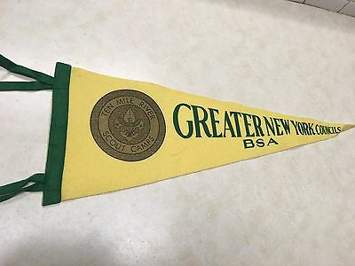 Vintage Greater New York Councils Felt Pennant