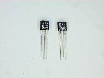 2n3819a Cei Generic Fet Transistor 2 Pcs