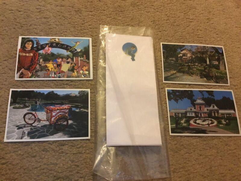 Michael Jackson Neverland Ranch Envelope , Photos