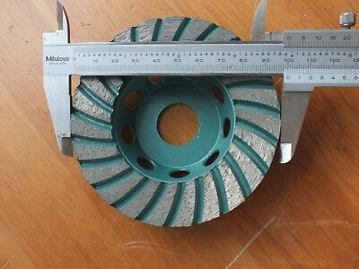Turbo Diamond Grinding Cup Wheel 4 Inch