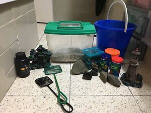 Aquarium ornaments and equipment Mitcham Whitehorse Area Preview