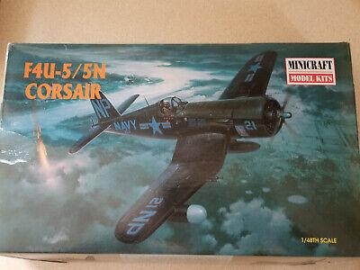F4U-5 / 5N Corsair Spare Parts Model 11617 Minicraft 1/48 Scale