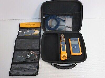 Fluke Networks Cableiq Intellitone Pro 200 Probe Link Runner Koch Kit