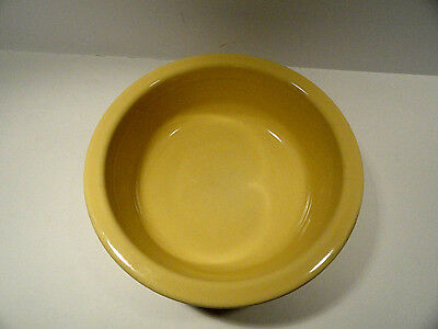 Fiesta Yellow Nappy Serving Bowl Homer Laughlin